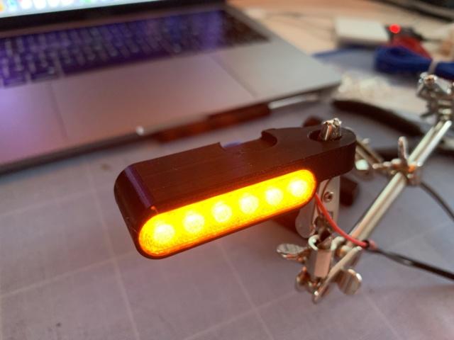 Fabrication clignotants LED avec imprimante 3D 3ozztk10