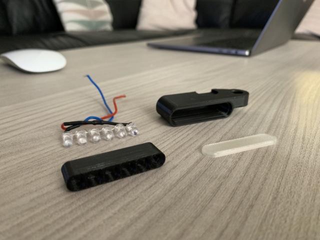 Fabrication clignotants LED avec imprimante 3D Amml9010
