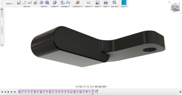 Fabrication clignotants LED avec imprimante 3D Captur10