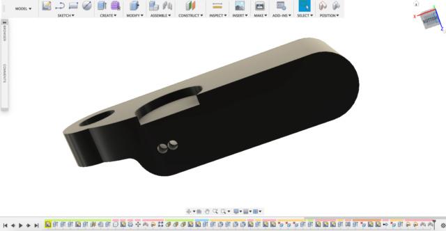 Fabrication clignotants LED avec imprimante 3D Captur11