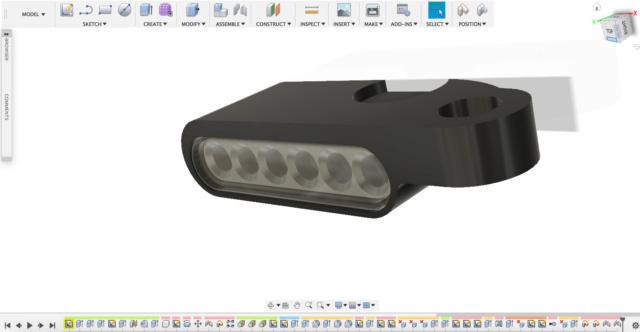 Fabrication clignotants LED avec imprimante 3D Captur14