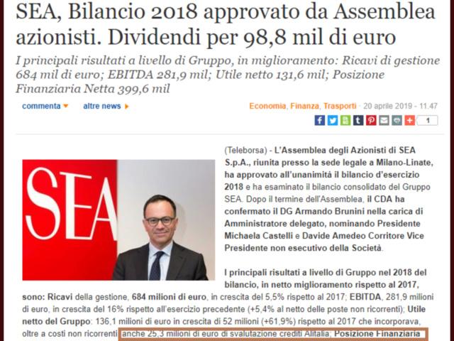 Alitalia in stato fallimentare info: - Pagina 3 257dfa10