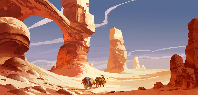 Le continent du désert blanc Desert10