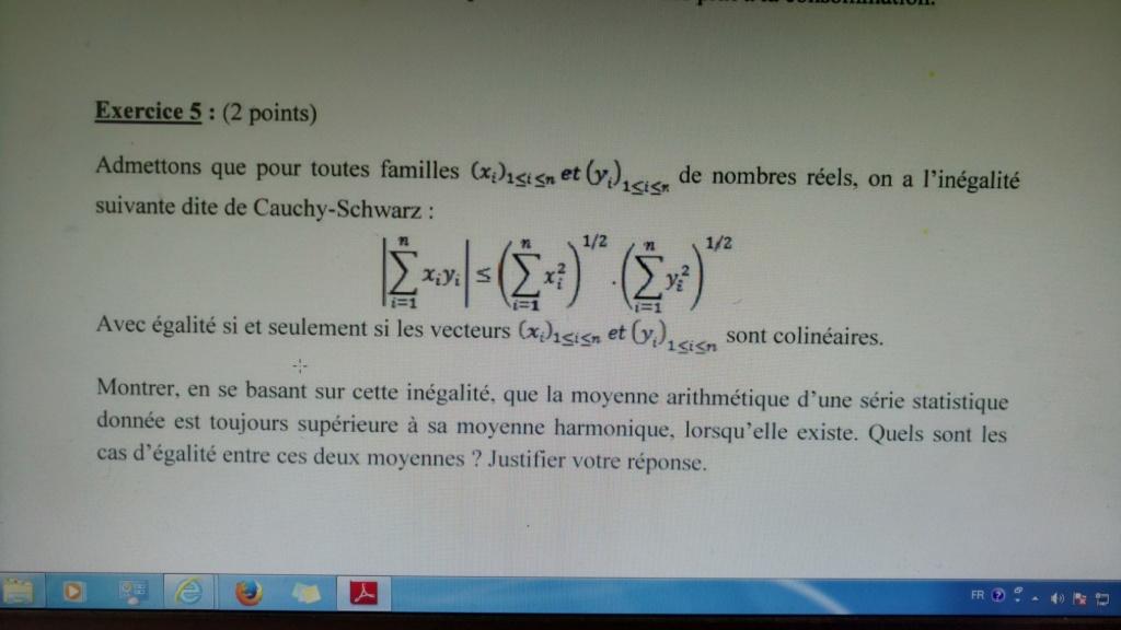 moyenne - Inégalité moyenne arithmético harmonique Img_2010