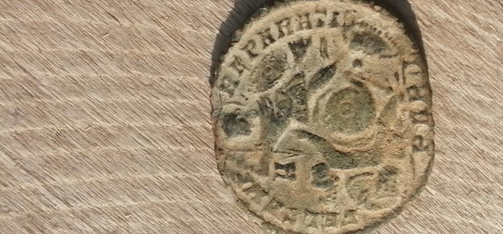 AE2 de Constancio II. FEL TEMP REPARATIO. Soldado alanceando a jinete. Arlés Img_2107
