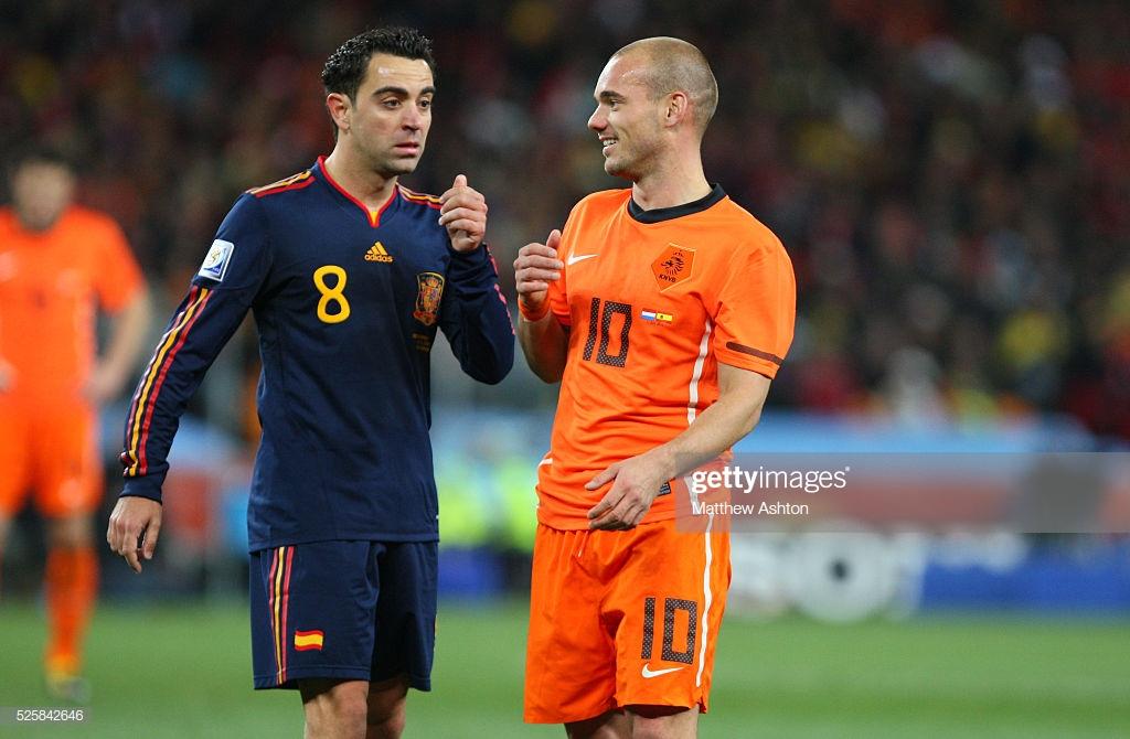 ¿Cuánto mide Wesley Sneijder? - Real height Sneijd11