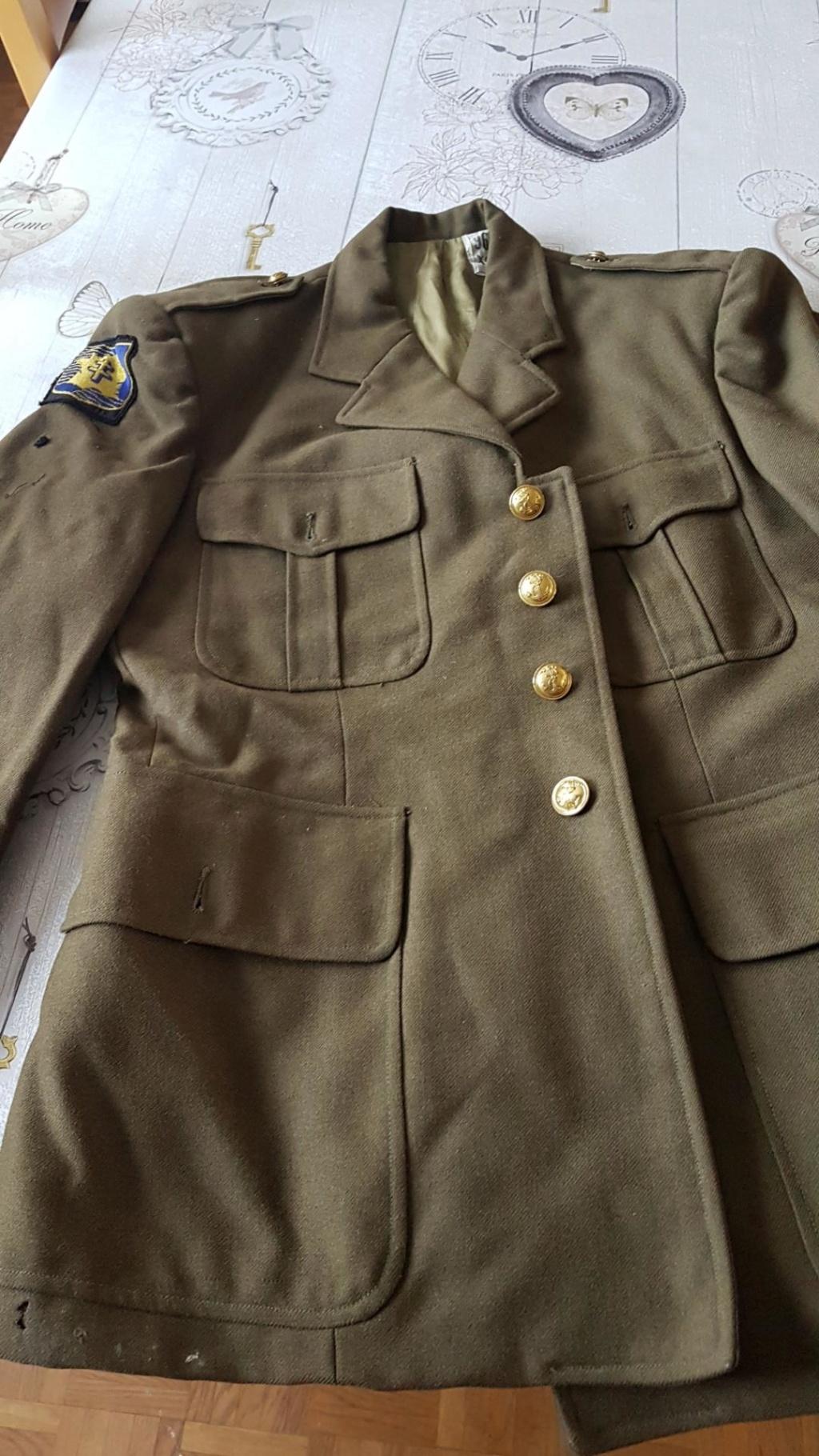 Veste française post deuxième guerre F2ca-710