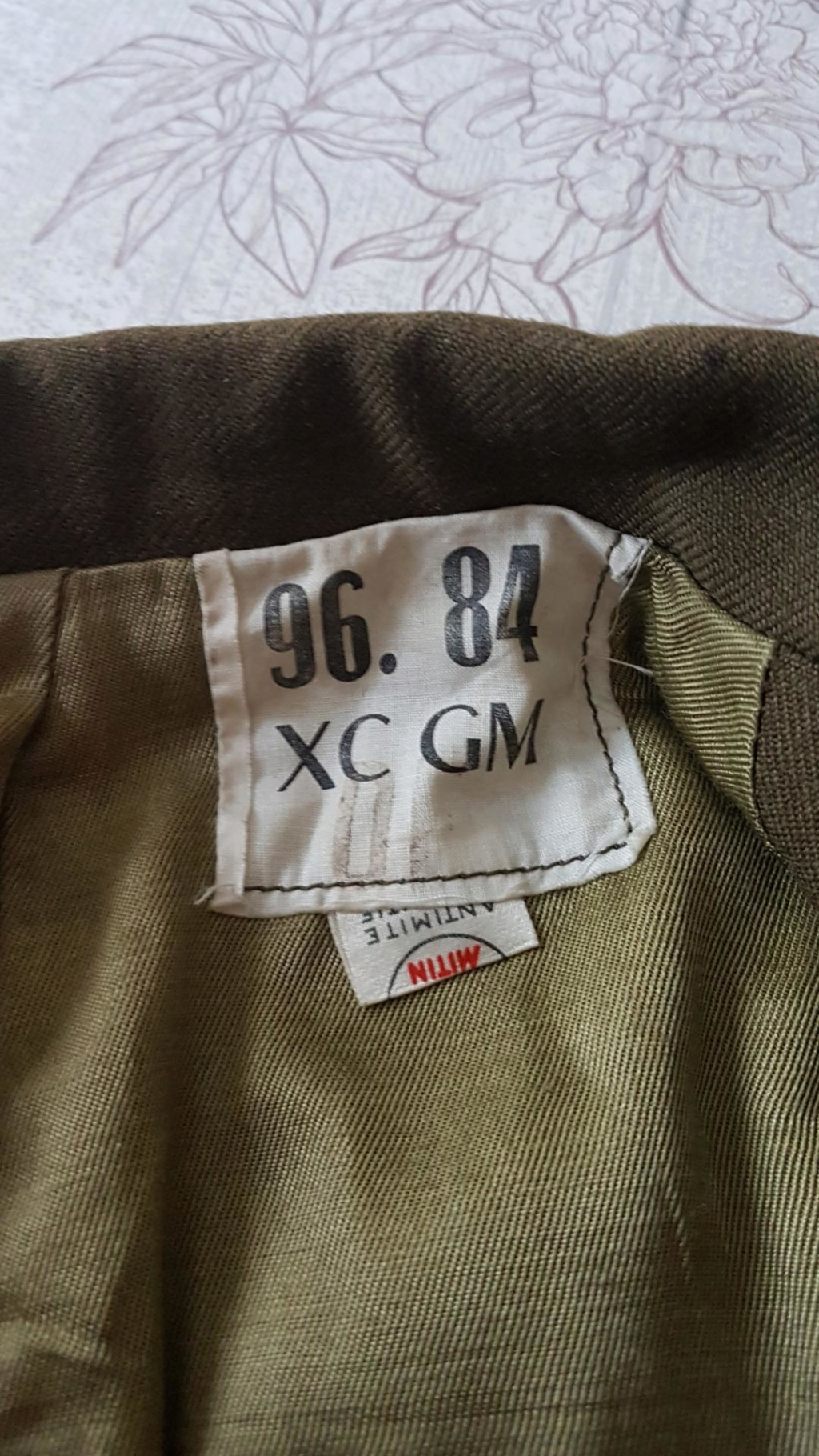 Veste française post deuxième guerre Paamlm10