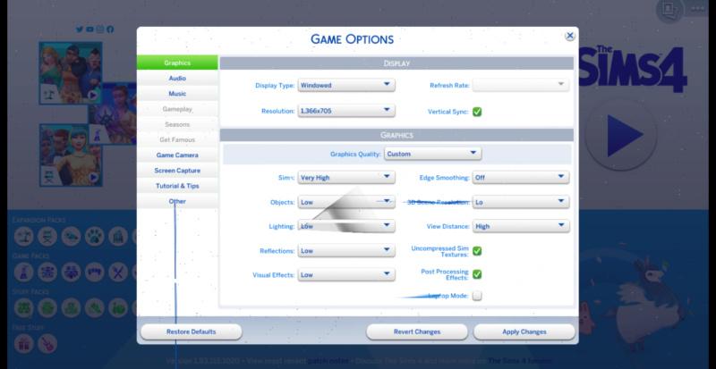 Screen Glitch Help The_si10