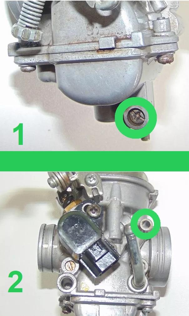 combustivel - Tutorial - Como resolver o vazamento de combustível pelo respiro do carburador na YBR 125 Factor Carbur10
