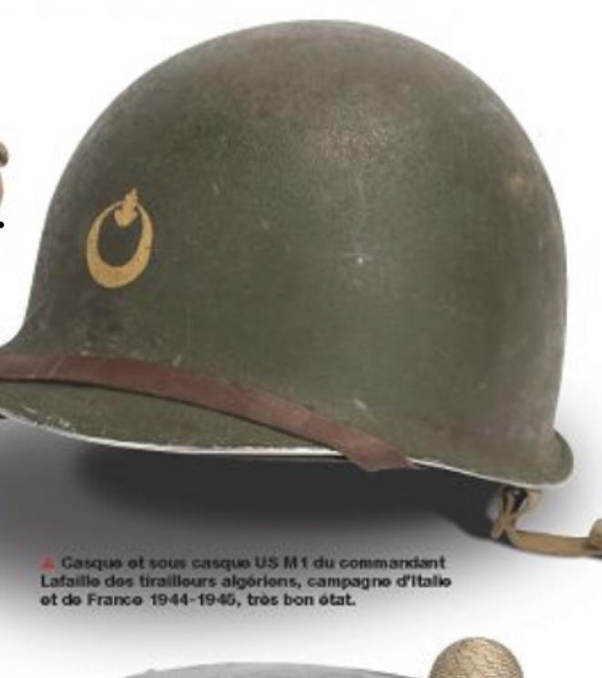 Casque tirailleur Algérien Libération  5a877810