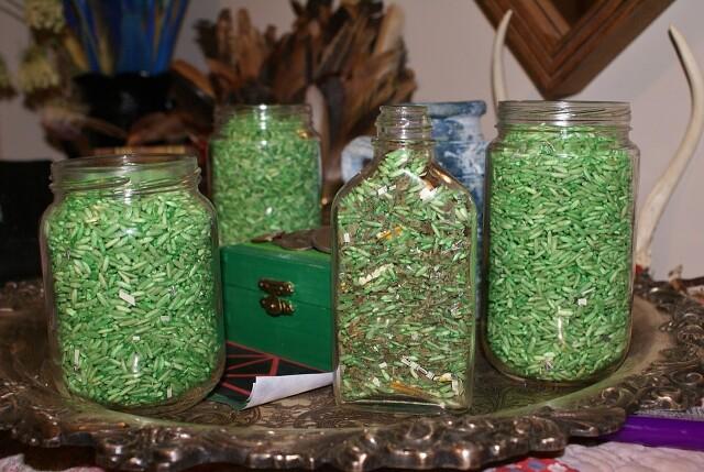 Магичееский зеленый рис 118