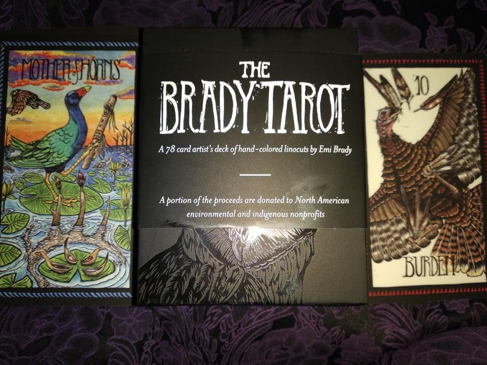 The Brady Tarot. Таро Брэди. Полная галерея.  11851910