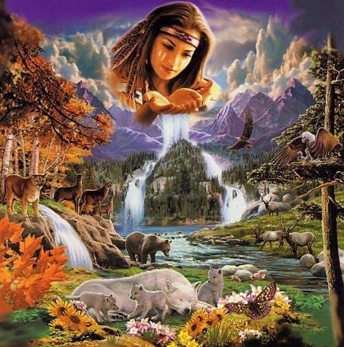 Мать сыра земля - славянская богиня земли.  18378010