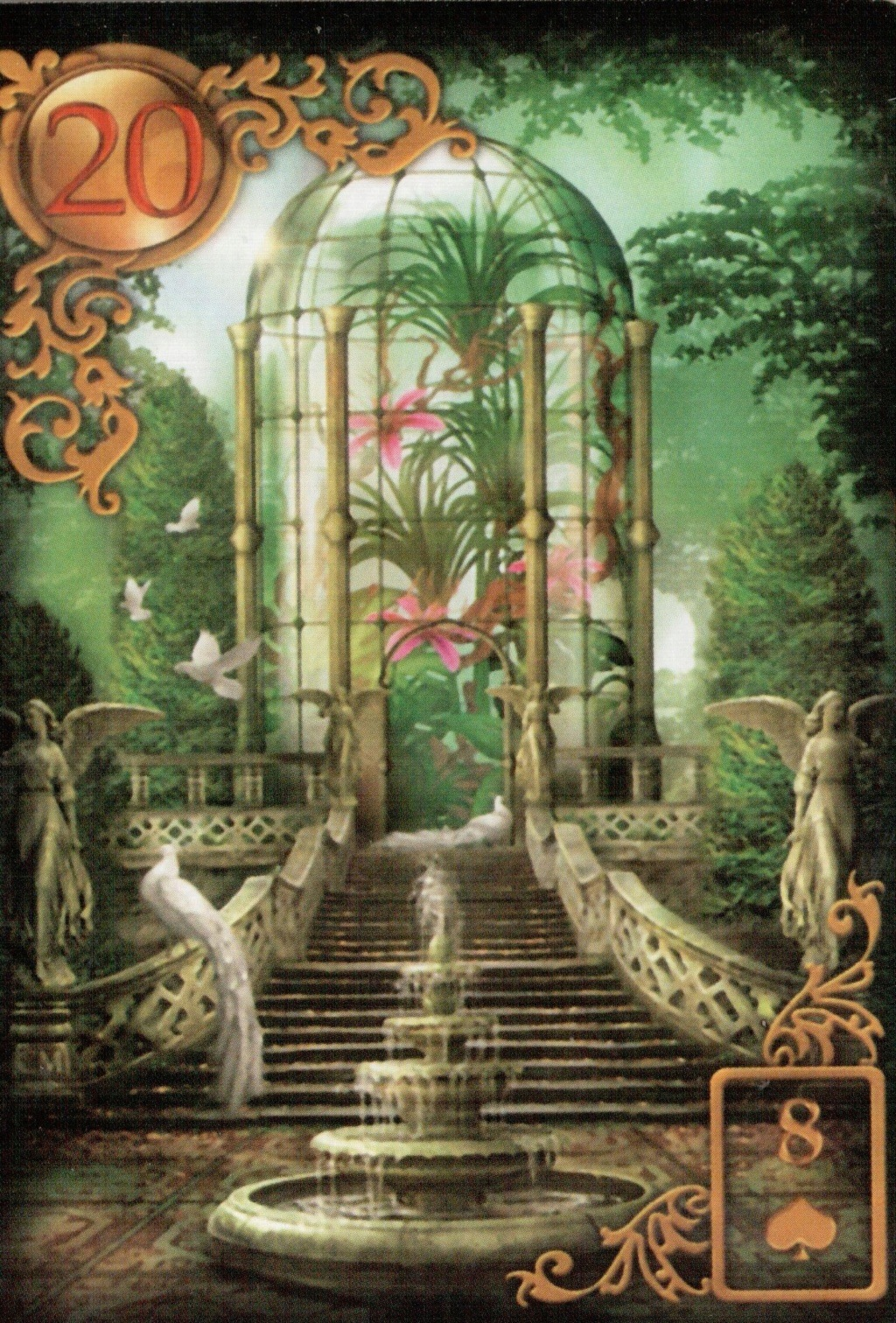 Золотые мечты Ленорман (Расширенное издание) | Gilded Reverie Lenormand. Галерея.  20_a10