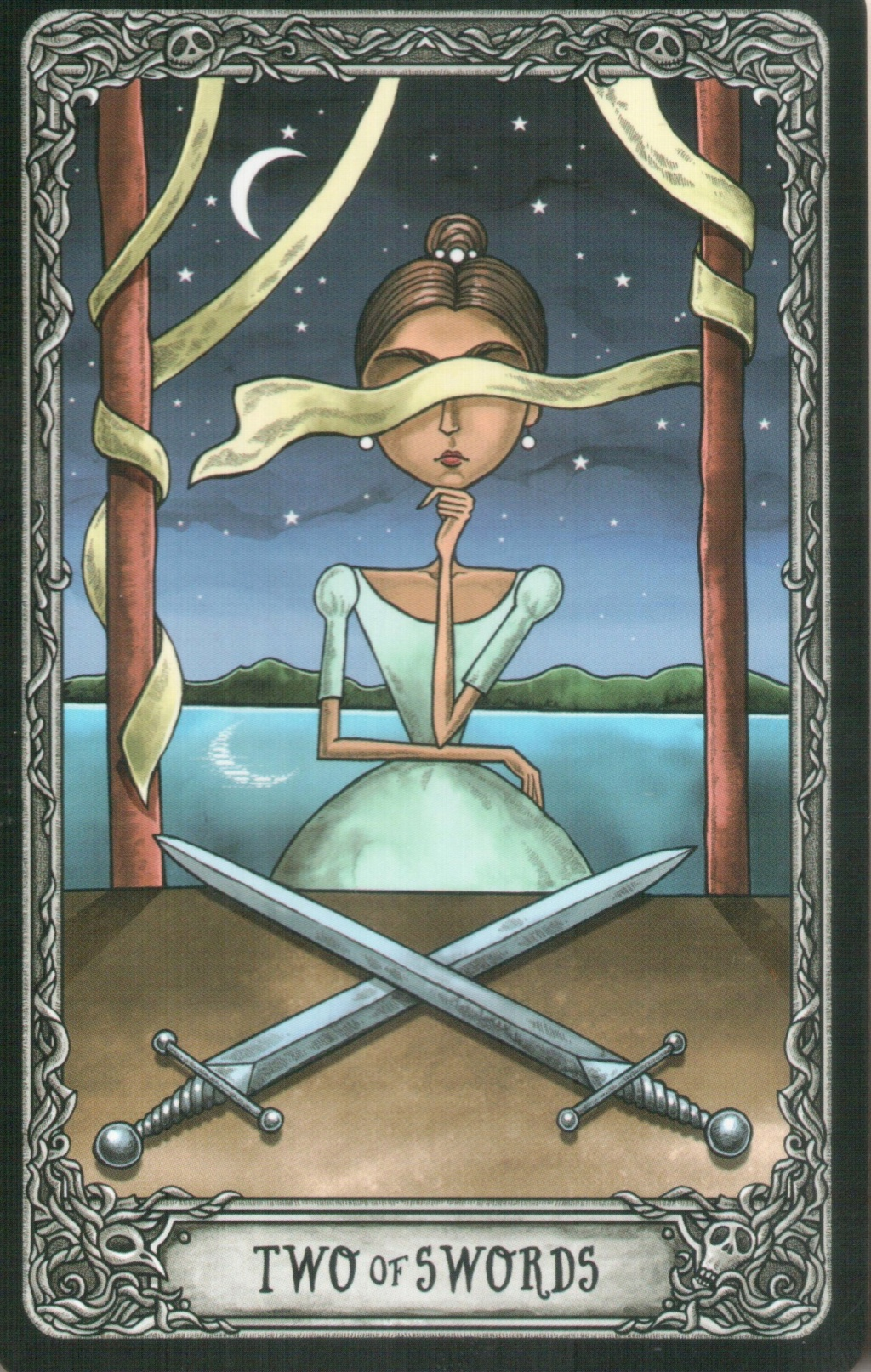 "Таро ""Темный особняк"" (The Dark Mansion Tarot). Галерея.  219"