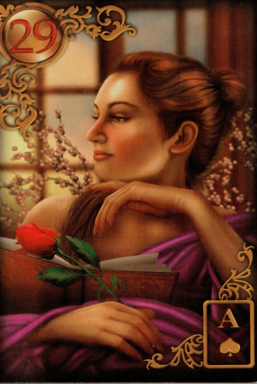 Золотые мечты Ленорман (Расширенное издание) | Gilded Reverie Lenormand. Галерея.  29_o10