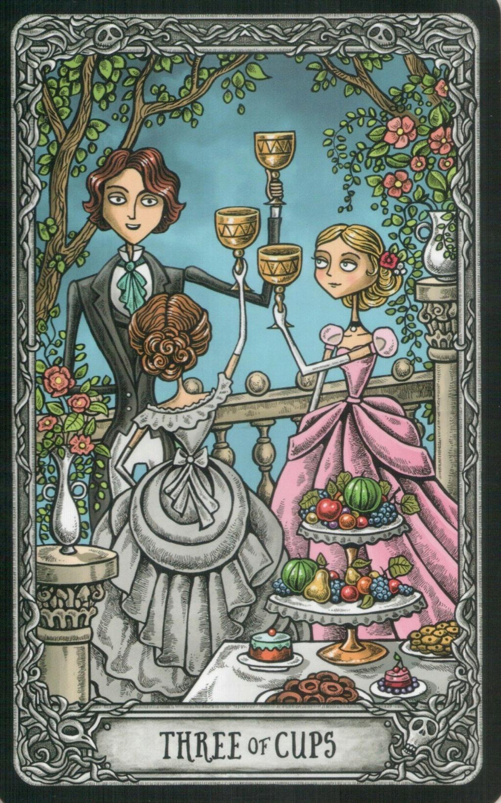 "Таро ""Темный особняк"" (The Dark Mansion Tarot). Галерея.  316"