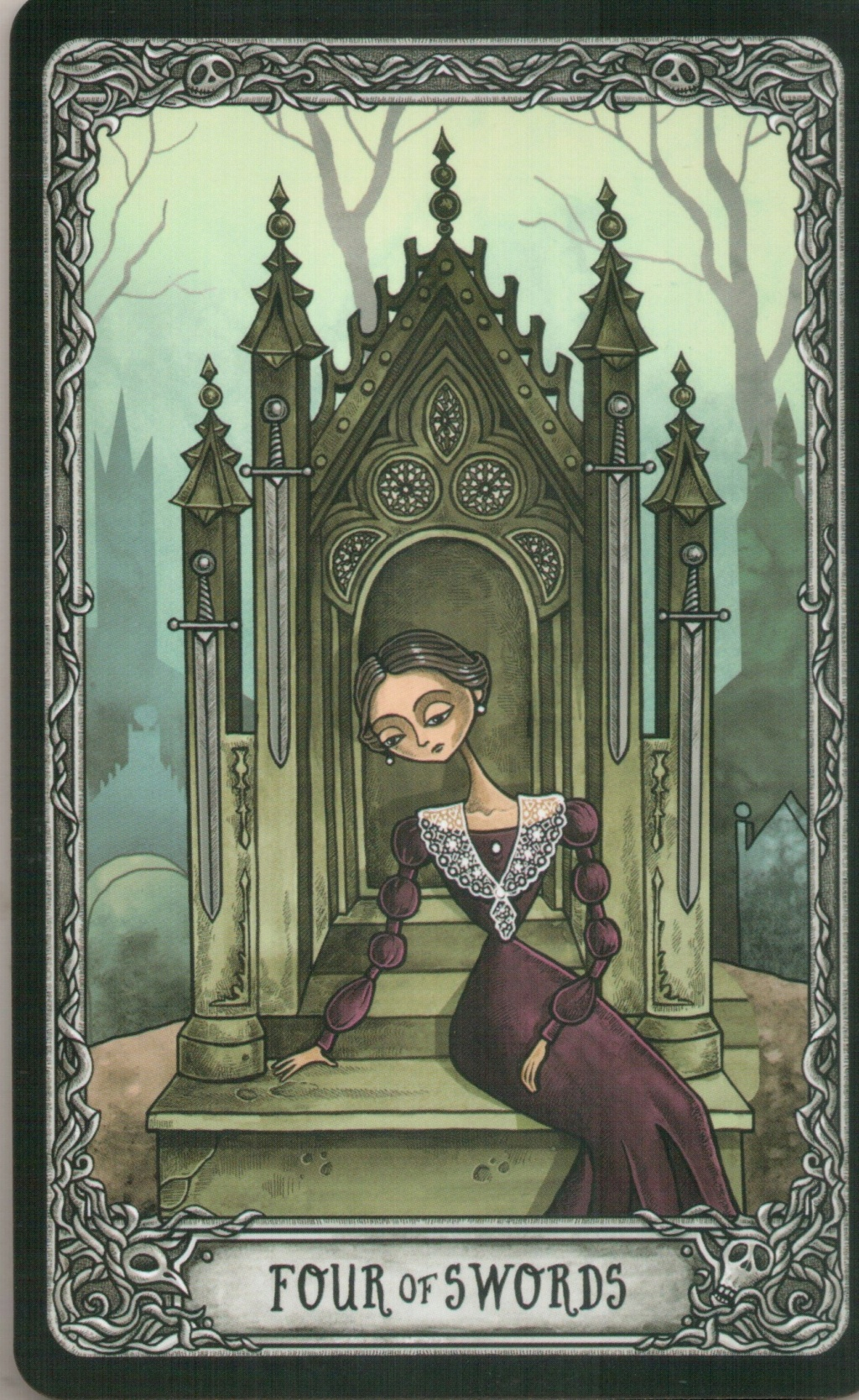 "Таро ""Темный особняк"" (The Dark Mansion Tarot). Галерея.  415"