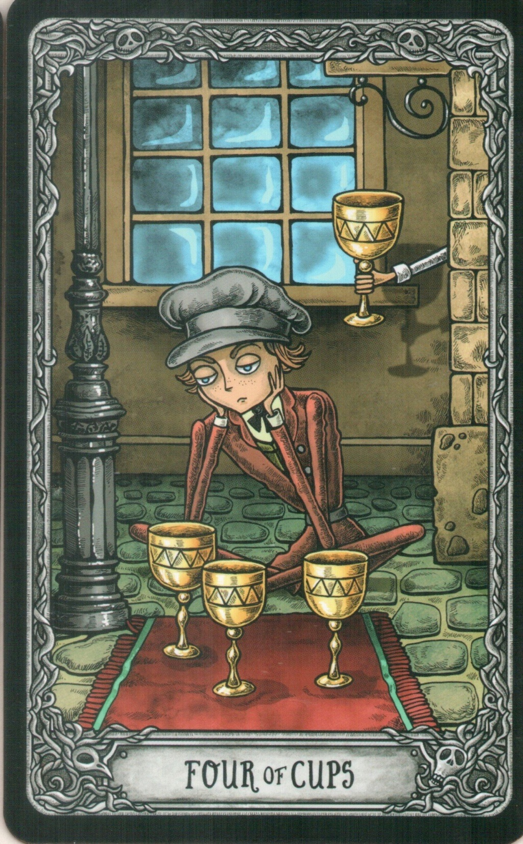 "Таро ""Темный особняк"" (The Dark Mansion Tarot). Галерея.  416"