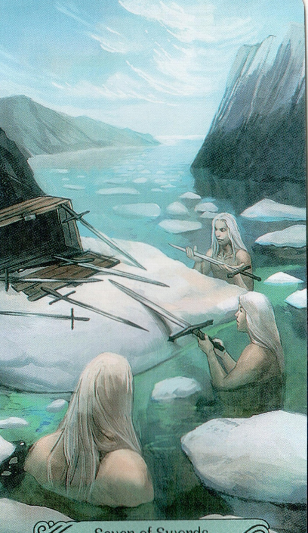 Таро Русалок (Mermaid Tarot) 7_10