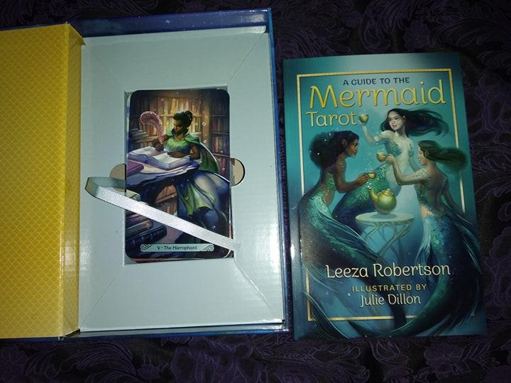 Таро Русалок (Mermaid Tarot) Сравнение ориганала и китайской версии 88133410
