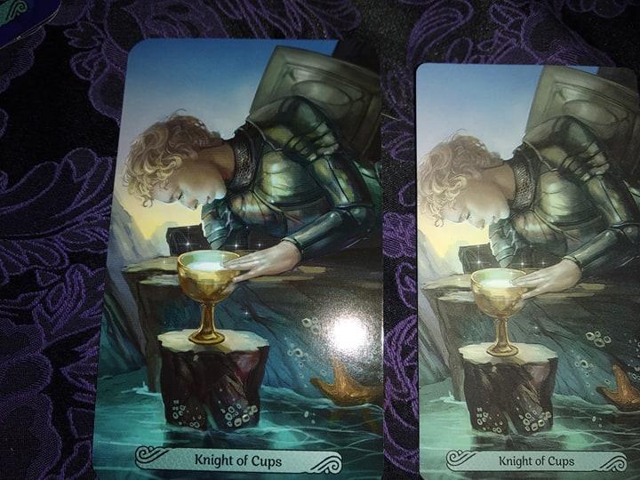 Таро Русалок (Mermaid Tarot) Сравнение ориганала и китайской версии 88189310