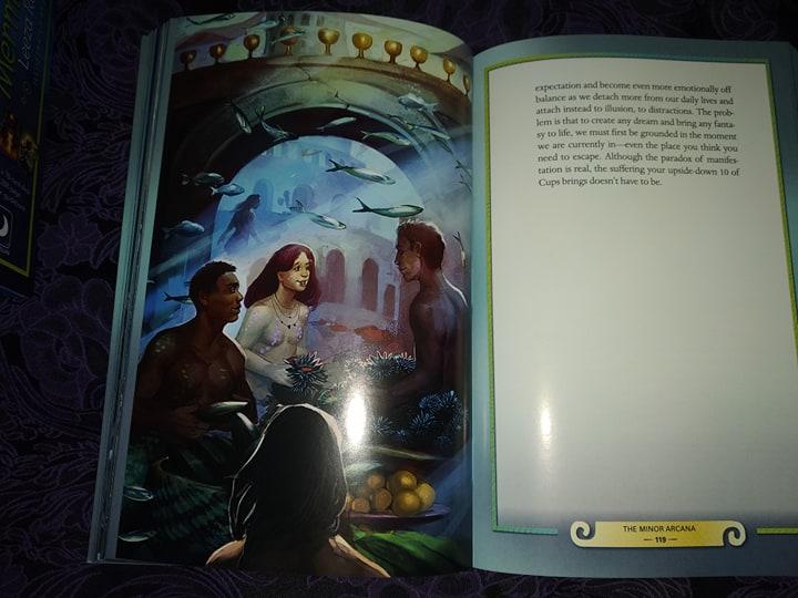 Таро Русалок (Mermaid Tarot) Сравнение ориганала и китайской версии 88196411