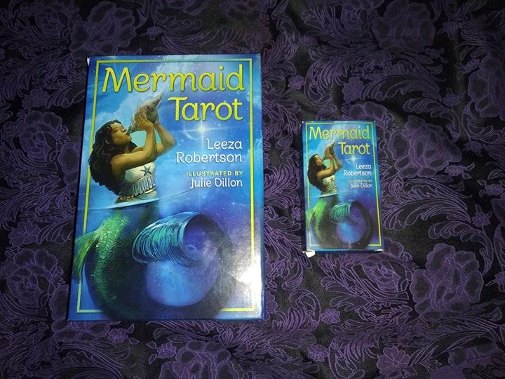 Таро Русалок (Mermaid Tarot) Сравнение ориганала и китайской версии 88210210