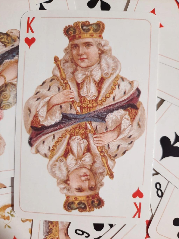 Король червей. Значение.  Qi-f9a10