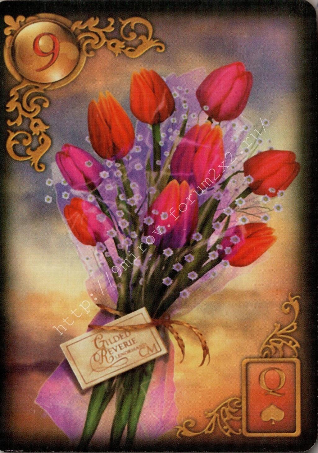 Золотые мечты Ленорман (Расширенное издание) | Gilded Reverie Lenormand. Галерея.  Water105