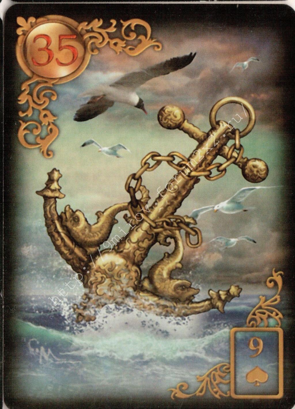 Золотые мечты Ленорман (Расширенное издание) | Gilded Reverie Lenormand. Галерея.  Water126