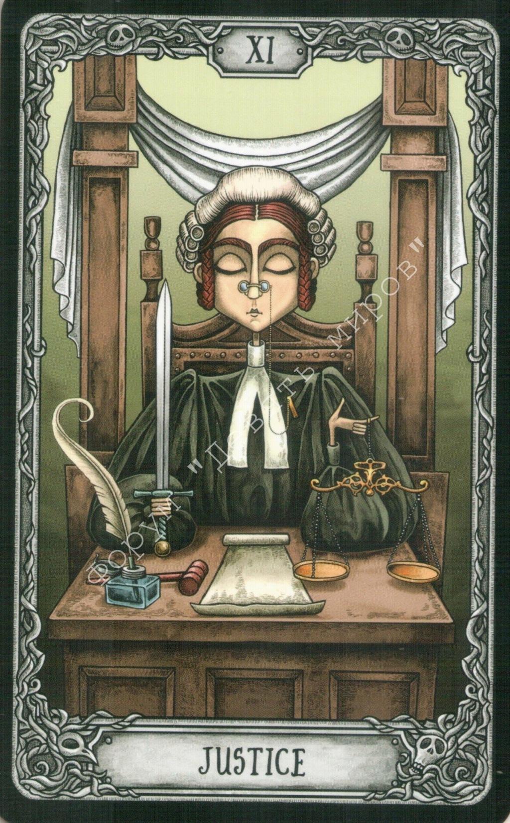 "Таро ""Темный особняк"" (The Dark Mansion Tarot). Галерея.  Water212"