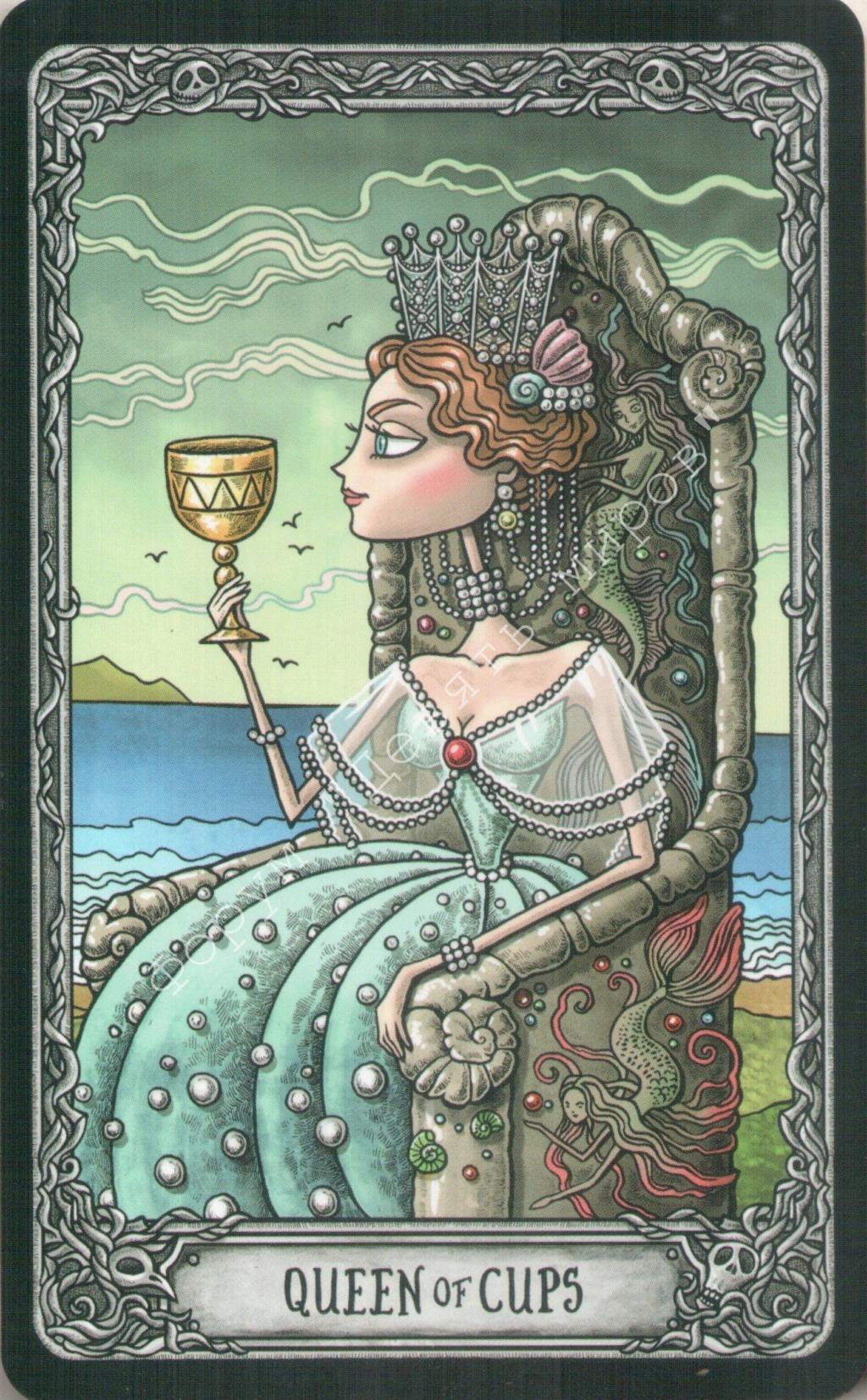 "Таро ""Темный особняк"" (The Dark Mansion Tarot). Галерея.  Water239"