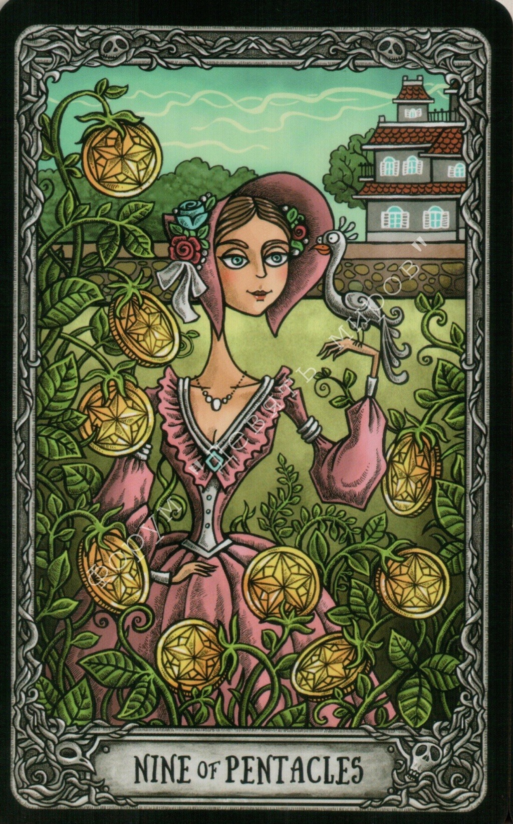 "Таро ""Темный особняк"" (The Dark Mansion Tarot). Галерея.  Water249"