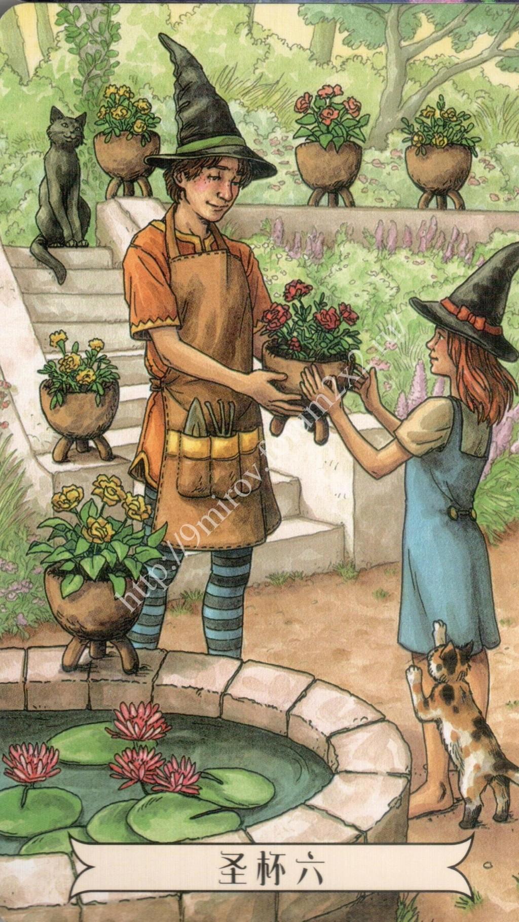 """""""Ведьма каждый день"""" (Ведьма день за днем, Everyday Witch Tarot). Китайская версия. Галерея.   Waterm37"""