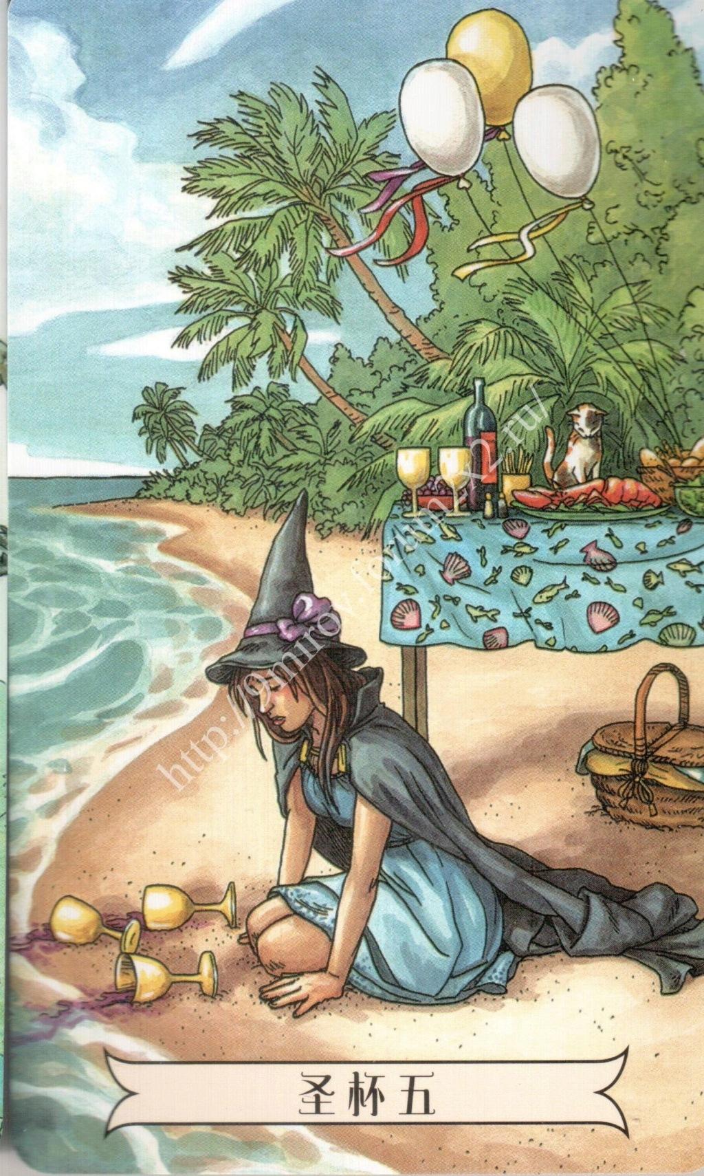 """""""Ведьма каждый день"""" (Ведьма день за днем, Everyday Witch Tarot). Китайская версия. Галерея.   Waterm38"""