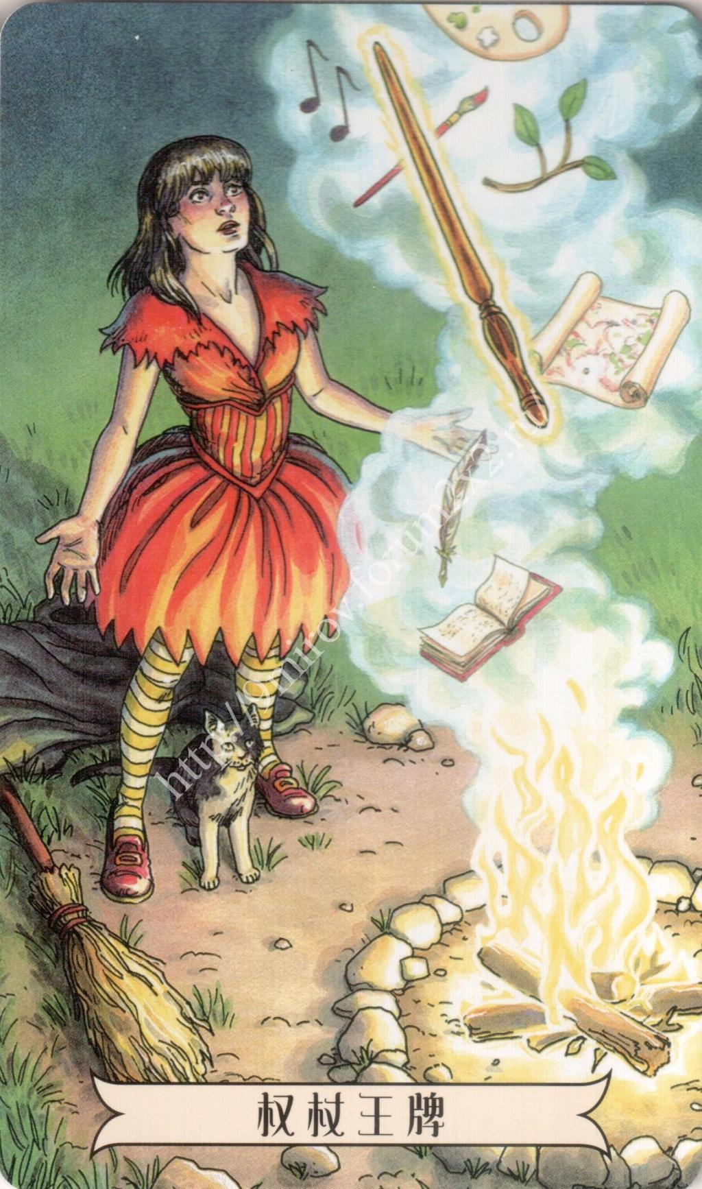 """""""Ведьма каждый день"""" (Ведьма день за днем, Everyday Witch Tarot). Китайская версия. Галерея.   Waterm45"""
