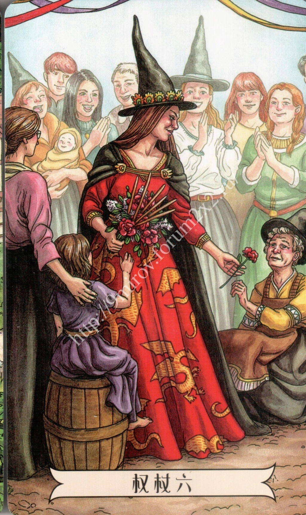 """""""Ведьма каждый день"""" (Ведьма день за днем, Everyday Witch Tarot). Китайская версия. Галерея.   Waterm50"""