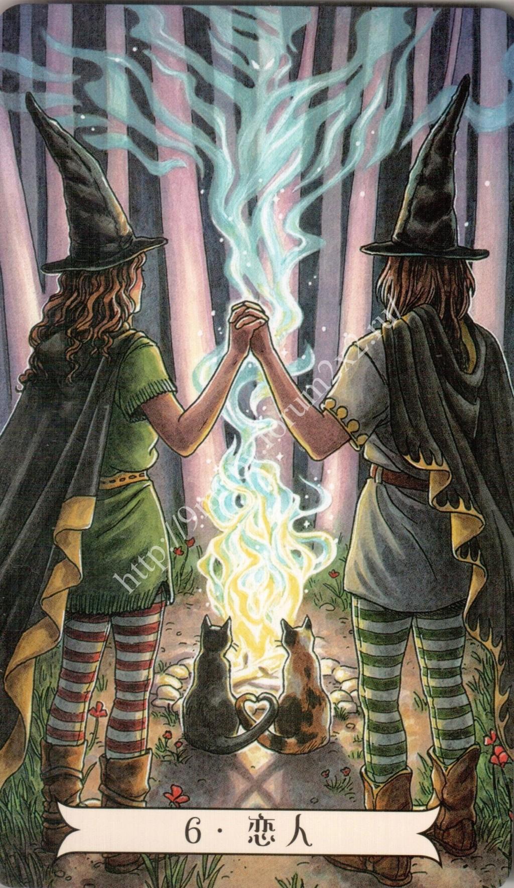 """""""Ведьма каждый день"""" (Ведьма день за днем, Everyday Witch Tarot). Китайская версия. Галерея.   Waterm74"""