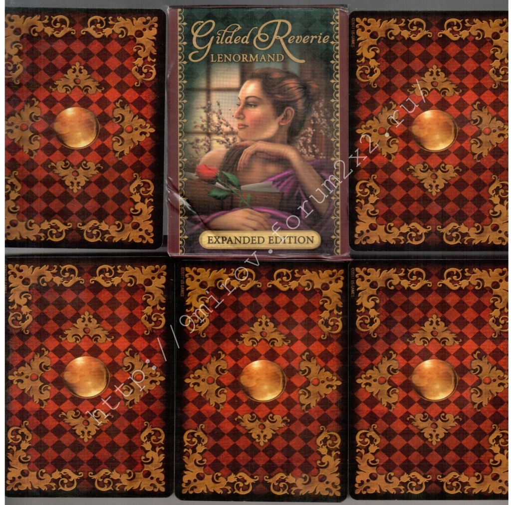 Золотые мечты Ленорман (Расширенное издание) | Gilded Reverie Lenormand. Галерея.  Waterm93