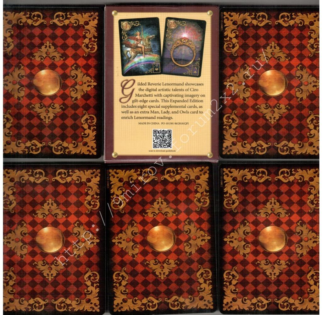 Золотые мечты Ленорман (Расширенное издание) | Gilded Reverie Lenormand. Галерея.  Waterm94