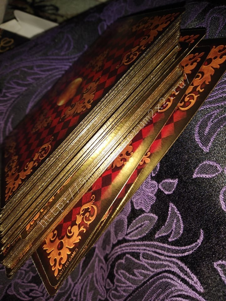 Золотые мечты Ленорман (Расширенное издание) | Gilded Reverie Lenormand. Галерея.  Waterm96