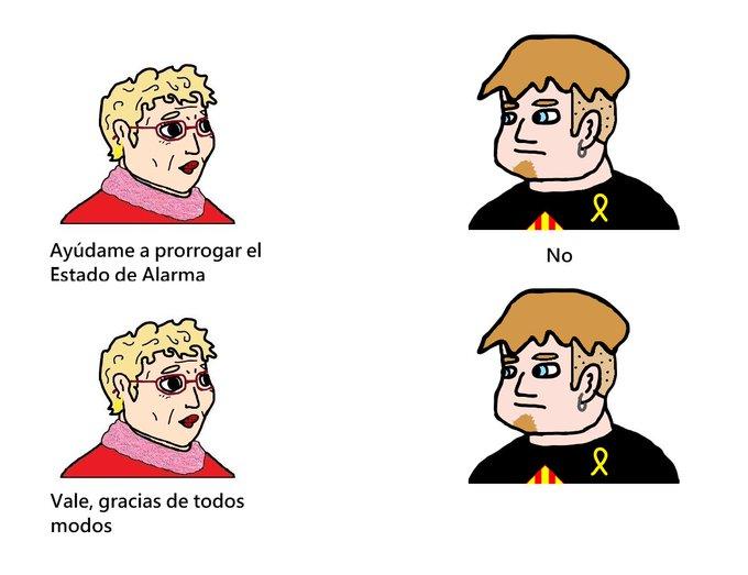 Es éste meme la mejor descripción de España en 2020?  Exmsia10