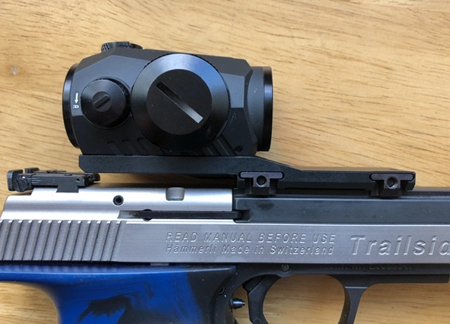 Offset aimpoint mount for 11mm dovetail, fit Xesse/Trailside etc 07160910