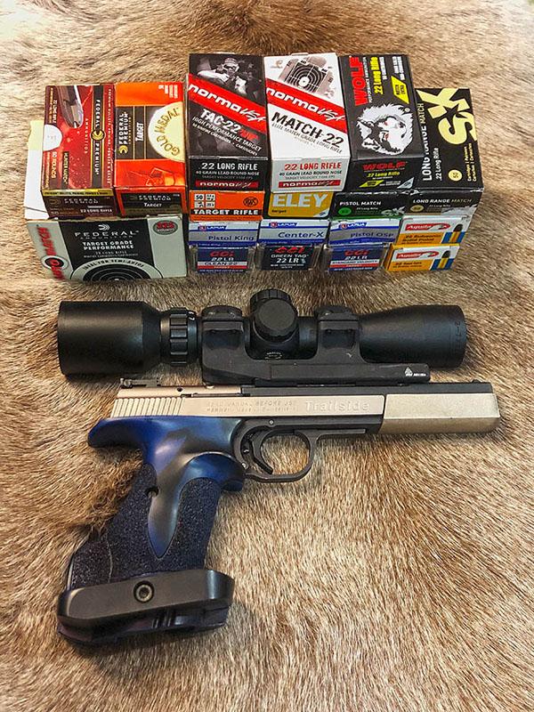 Sig/Hammerli Trailside Ammo Test 79247810