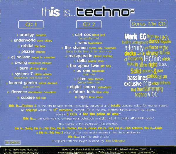 This Is a Techno Vol 2 (1997) R-575510