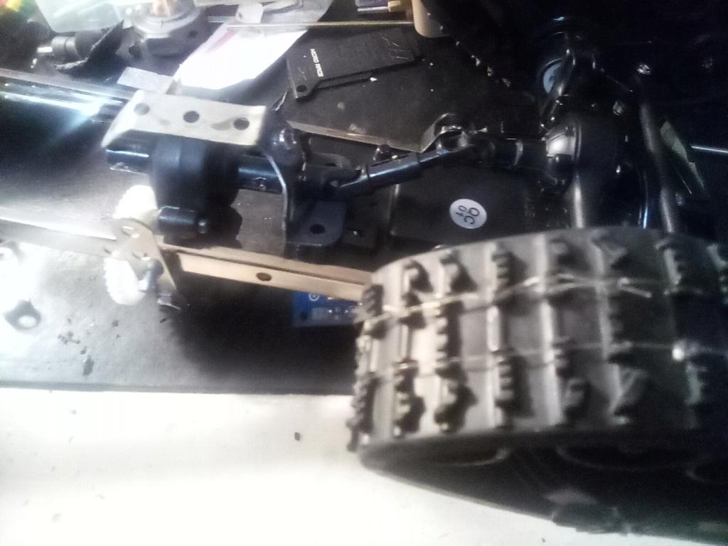 1\16 cox powered rc 4x4 traked truck new vidéo  16099515