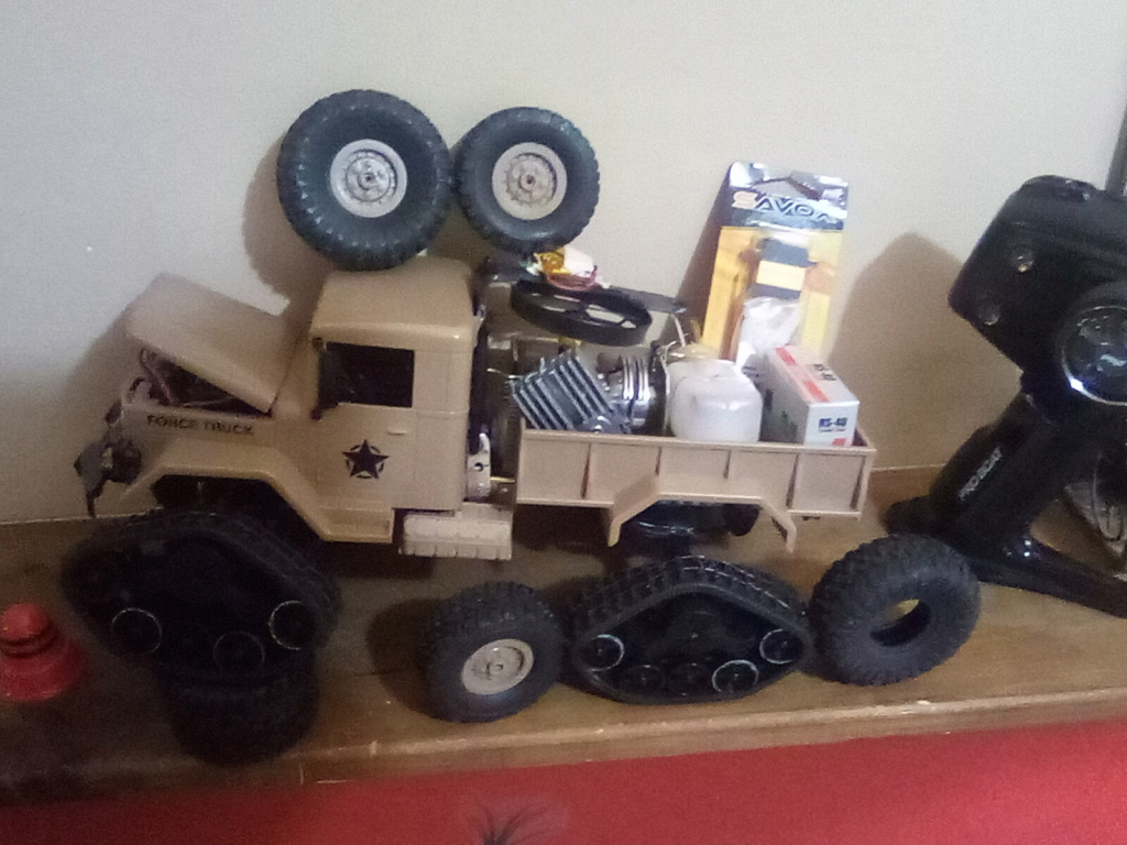 1\16 cox powered rc 4x4 traked truck  - Page 2 16101610