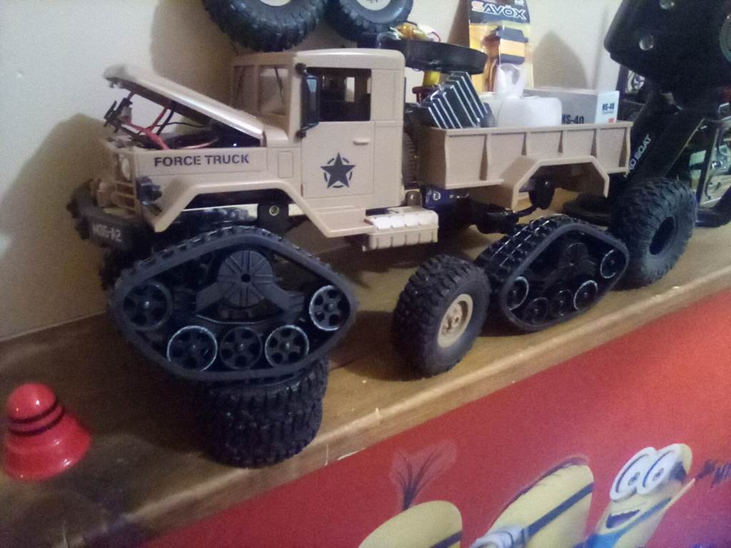 1\16 cox powered rc 4x4 traked truck  - Page 2 16101612